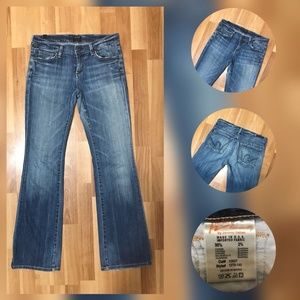 CITIZENS OF HUMANITY WOMAN DENIM JEANS BOOT CUT